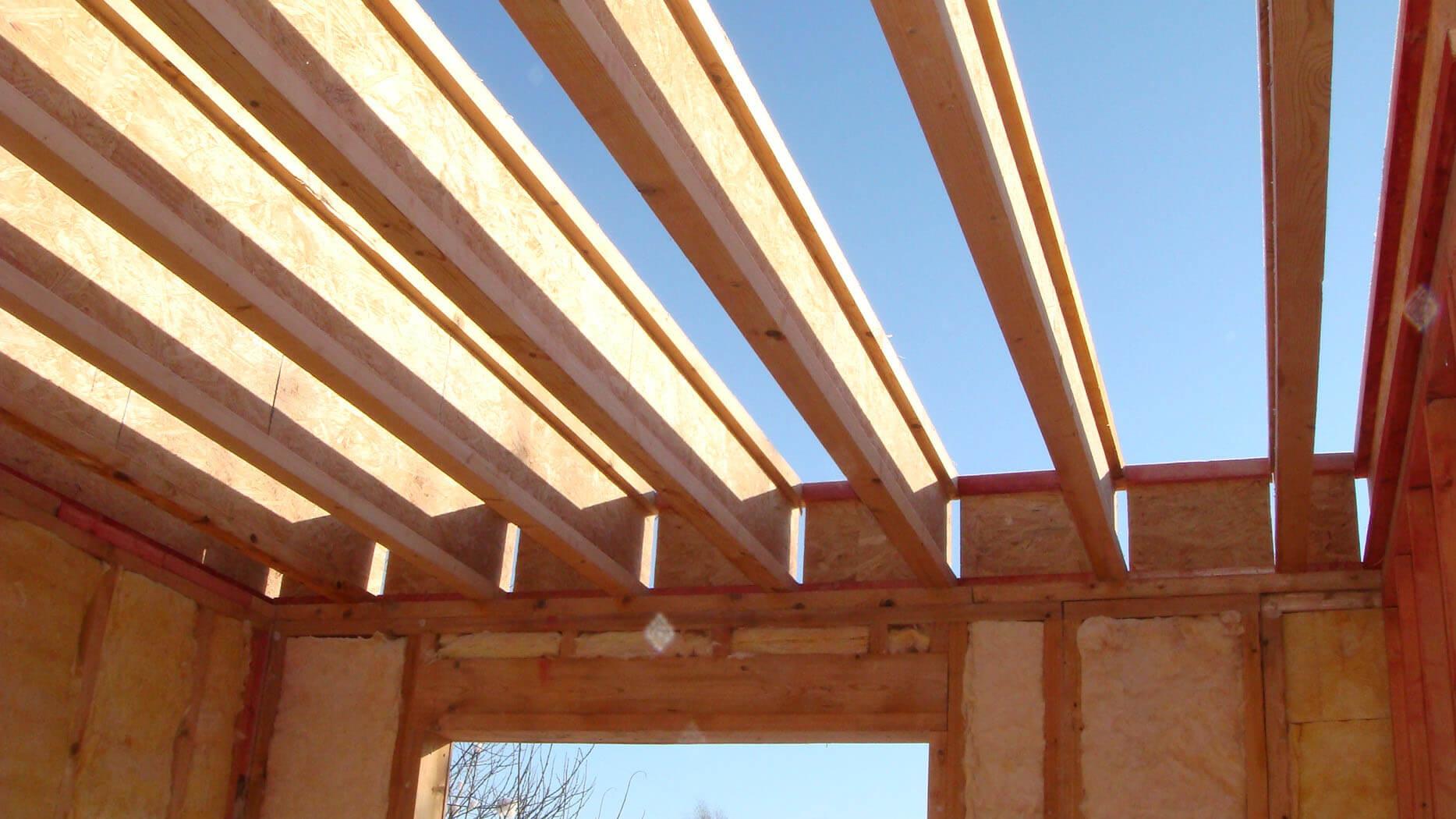 Стропильная система двухскатной крыши своими руками 974